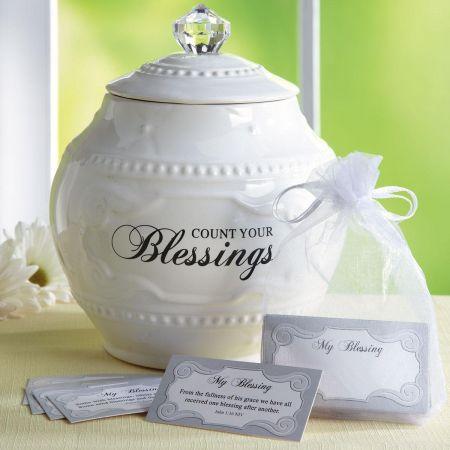 Ceramic Blessings Jar
