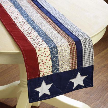 Americana Table Runner