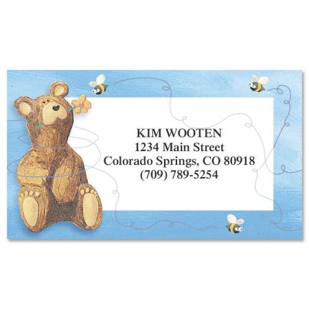 Bear Lodge Buddy  Business Cards