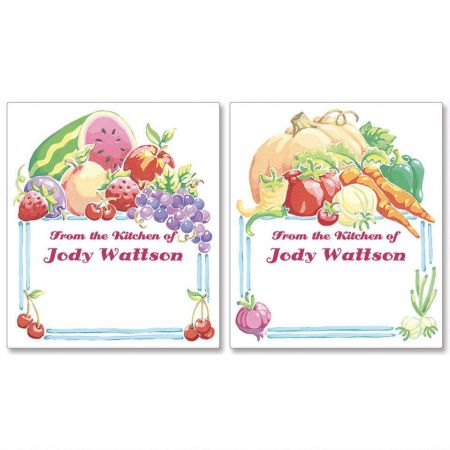 Nature's Goodness Canning Labels - Large