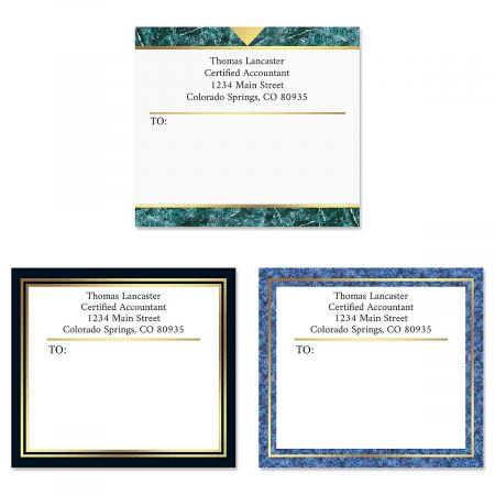 Foil Accents Package Labels  (3 Designs)