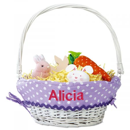 Easter Baskets with Custom Liners