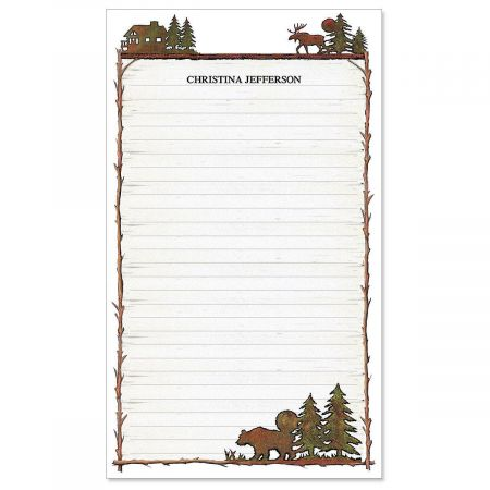 Country Lodge Notepad