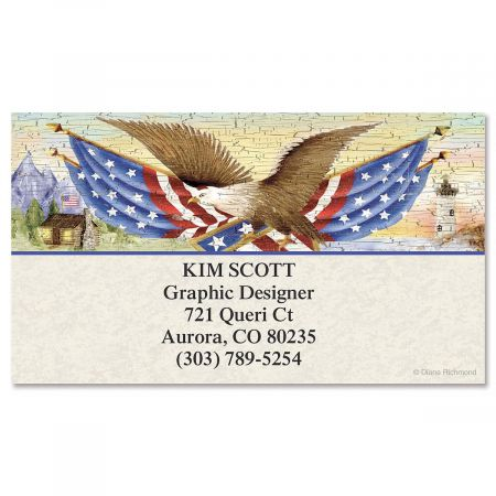 American Eagle Business Cards