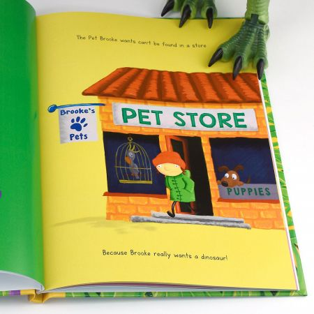 Perfect Pet Dinosaur Personalized Storybook