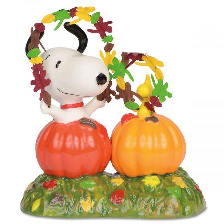 Snoopy's Happy Harvest Figurine