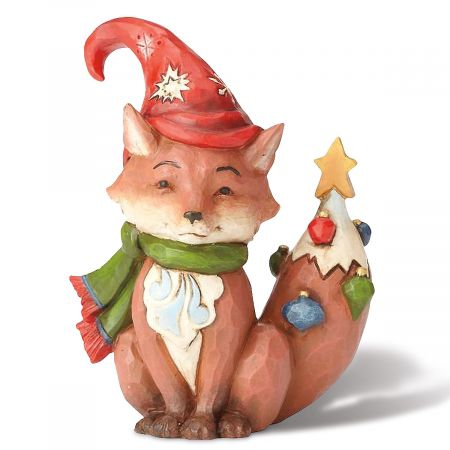 Miniature Christmas Fox by Jim Shore