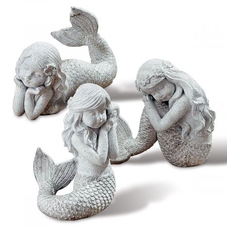 Mermaid Child Figurine