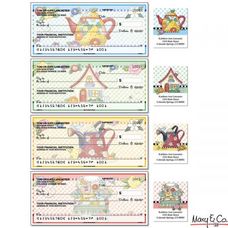 Mary's Classic Breits Duplicate Checks With Matching Address Labels