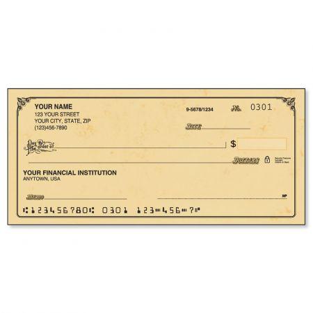 Antique Personal Checks