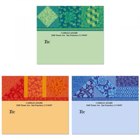 Oriental Flavor Package Labels