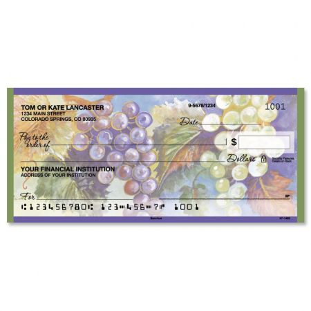 Bacchus Personal Checks