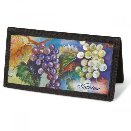 Bacchus  Checkbook Covers - Personalized