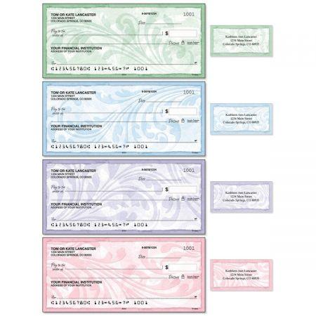 Scroll Single Checks with Matching Address Labels