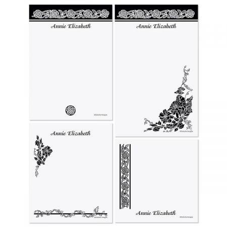 Black & White Memo Pad Sets