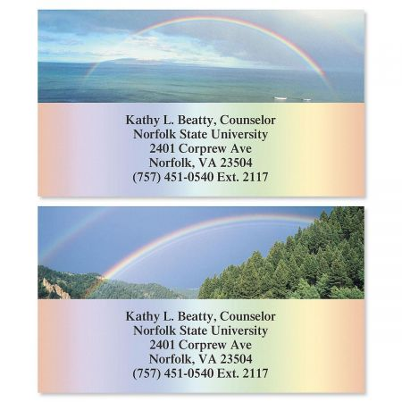 Beautiful Rainbows Business Cards  (2 Designs)