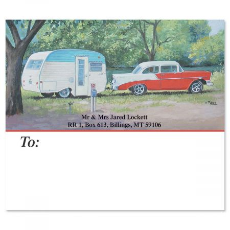 Travel Trailer Package Labels