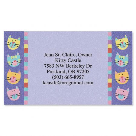 Fun Cats Business Cards