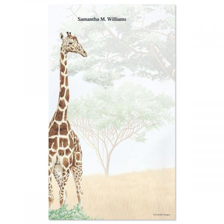 Trip to Africa Notepad