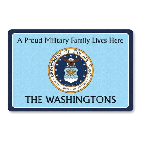 Proud Military Family  Doormat