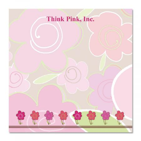 Shades of Pink Note Cube  Refill