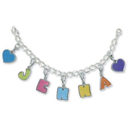 Silverplated Name Bracelet