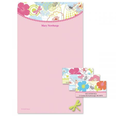 Floral Madness Notepad