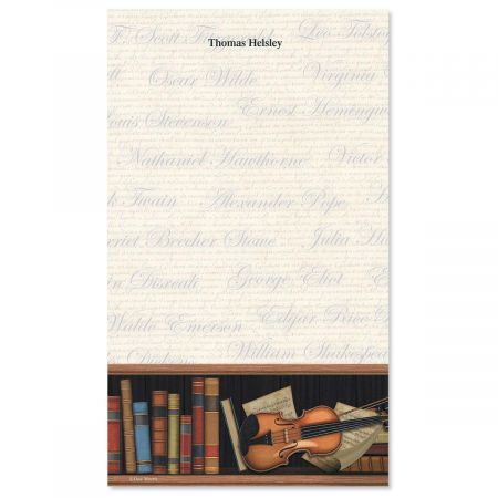 Book Lovers Notepad