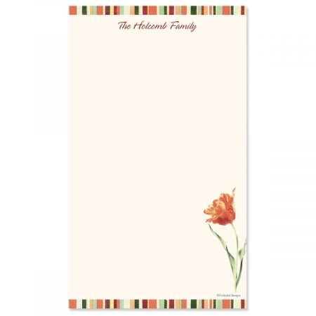 Elegant Tulips Notepad