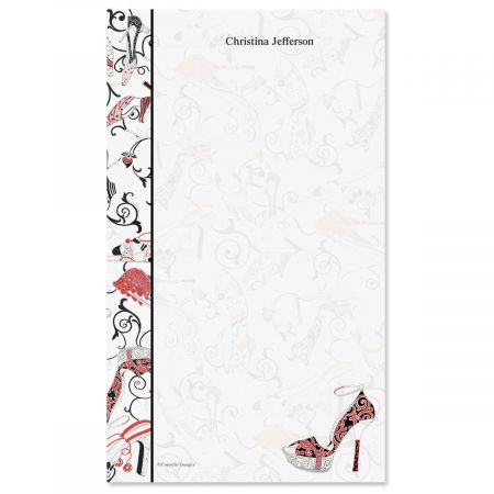 Graceful Shoes Notepad