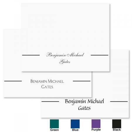 Simply Elegant Custom Note Cards