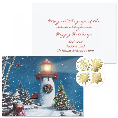 Snowflake Jewels Christmas Cards