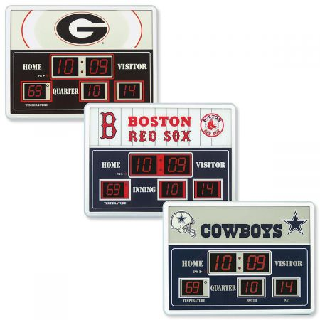 Favorite Team Scoreboard Electric Clock