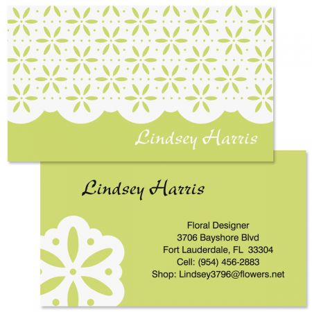 Athena  Double-Sided Business Cards