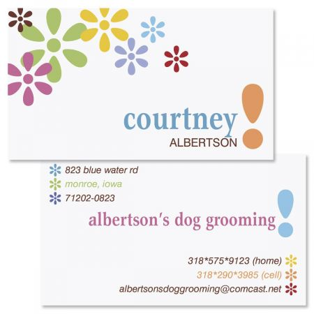 Hopscotch Double-Sided Business Cards