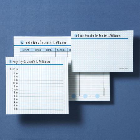 A Week in the Life... Memo Pad Sets Trio