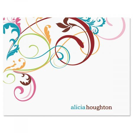 Fantasia Personalized Note Cards