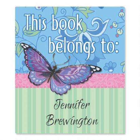 Blush Personalized Bookplates