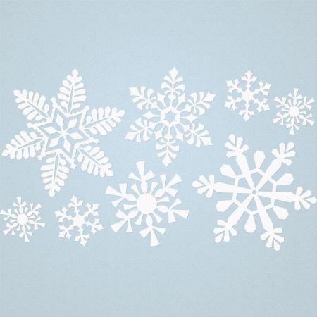 Snowflakes Vinyl Wall Accent