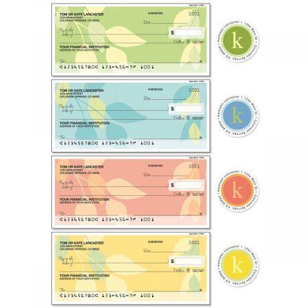 Sage Advice Single Checks with Matching Address Labels