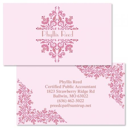 Pressed Corners  Double-Sided  Business Cards