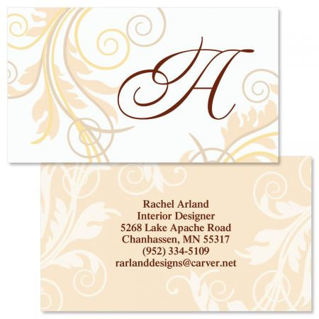 Tred Lightly  Double-Sided  Business Cards