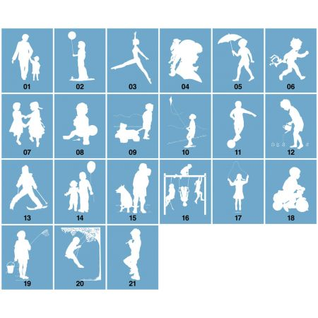My Silhouette Postcards