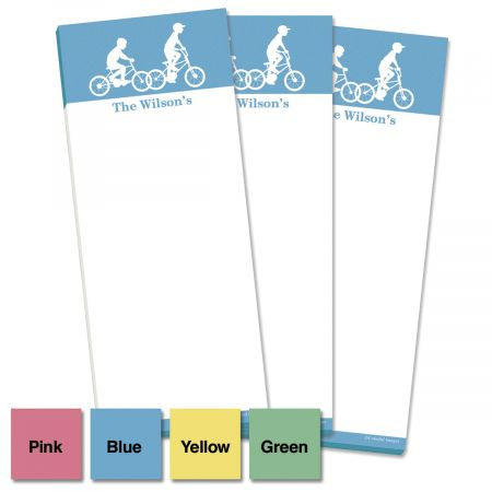 My Silhouette Personalized Memo Pads