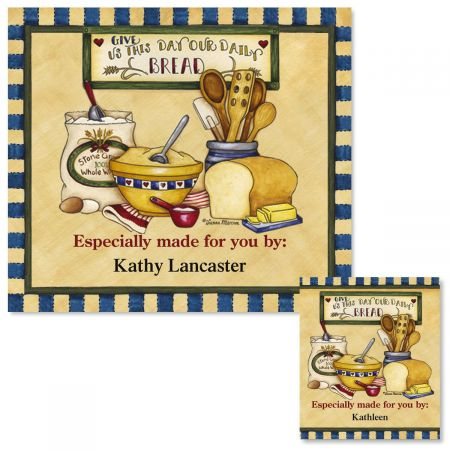 Daily Bread Canning Labels - Large