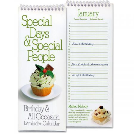 Birthday & Special Occasion Reminder Calendar