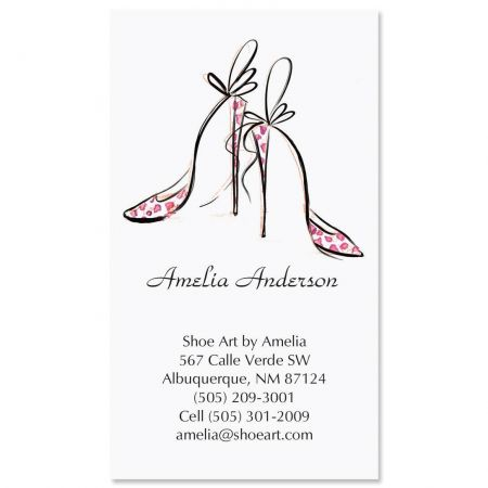 Divine Shoes Business Cards