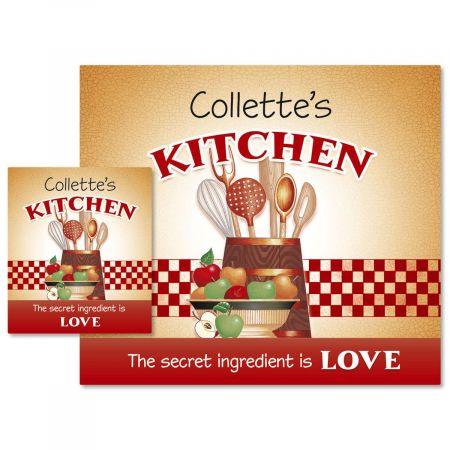 Secret Ingredient Canning Labels