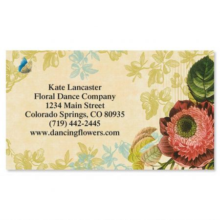 Nature's Flora Business Cards