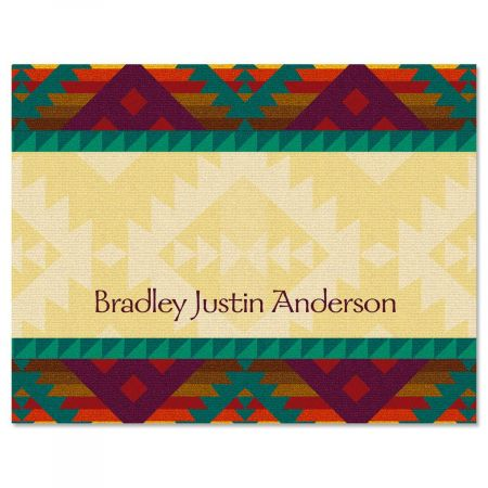 Geronimo Personalized Note Cards